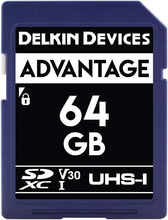 Delkin Devices 64gb Advantage Sdxc Uhs I Memory Card Computer Zubehör