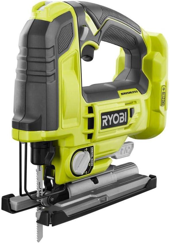 7. Ryobi 18-Volt ONE+ Cordless Brushless Jigsaw