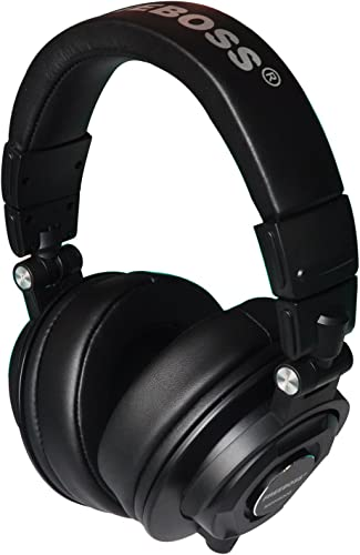 Freeboss MDH9000 Monitor Headphones with 50mm Drivers Single-Side Detachable Cable 3.5mm Plug 6.35mm Adapter