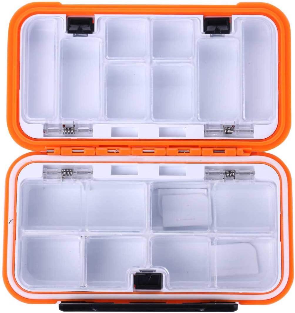 nulala versiegelte wasserdichtes Angelger/ätfach ABSplastikfischenzusatzkasten-Schwenkerschnellk/öderspeicherkasten