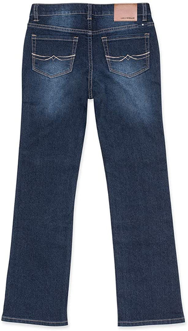 Big Kids Lucky Brand Kids Girls Deandra Bootcut Jeans in Barrier Wash