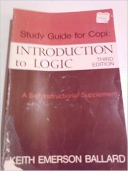 introduction to logic copi pdf