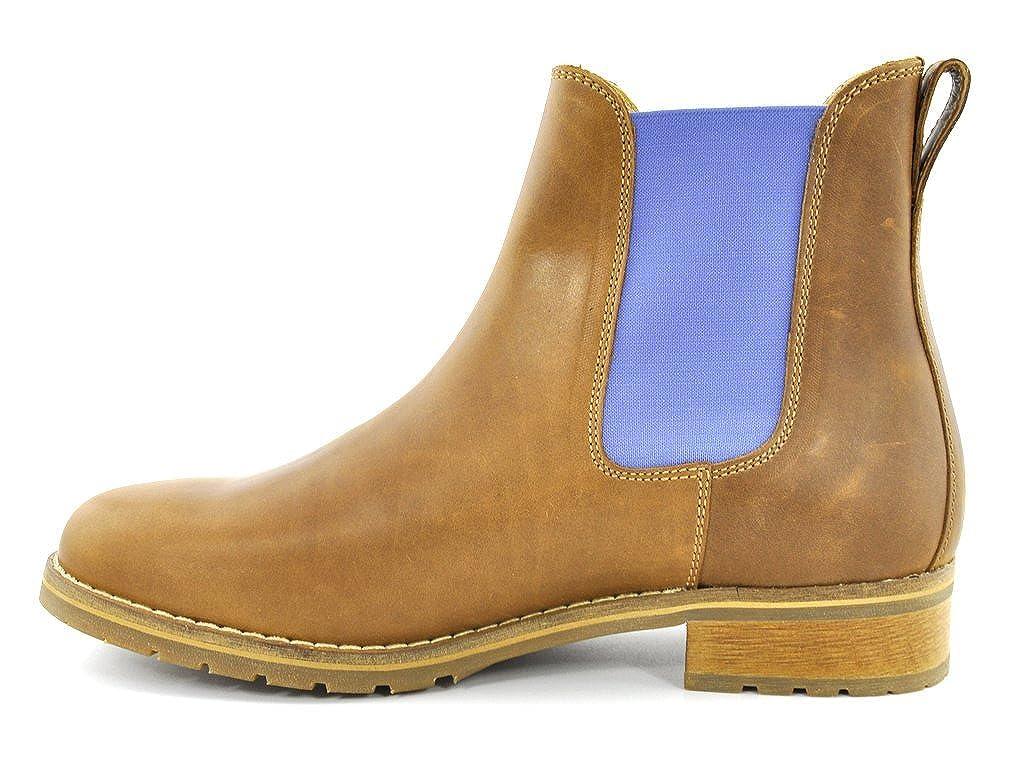 Blau Heeler Chelsea Stiefel Stiefel Stiefel Josslyn cognac-sky 827e74