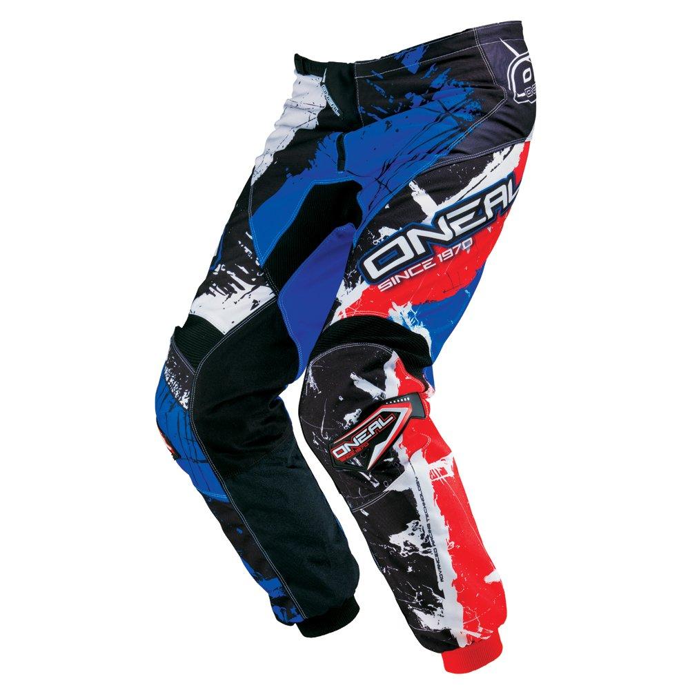 Pantaloni Motocross Oneal 2016 Element Shocker Nero-Rosso-Blu (34 Vita = Eu 50 , Nero) O' NEAL 0124-534