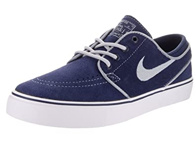Nike Kids Stefan Janoski (GS) Binary Blue Wolf Grey White Skate Shoe 7 Kids  US  Buy Online at Low Prices in India - Amazon.in 21fa35e714