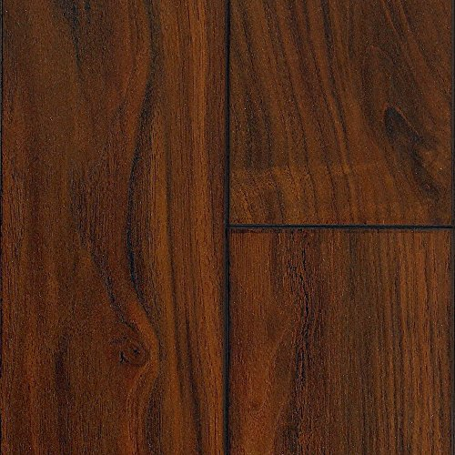 Mannington Hardware 26723 (S) Revolutions Collection Time Crafted Walnut Laminate Flooring, 8Mm, Heirloom