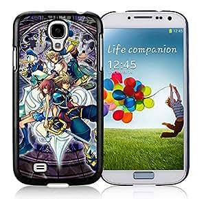 New Unique DIY Antiskid Skin Case For Samsung S4 Kingdom Hearts Samsung Galaxy S4 Black Phone Case 238 hjbrhga1544