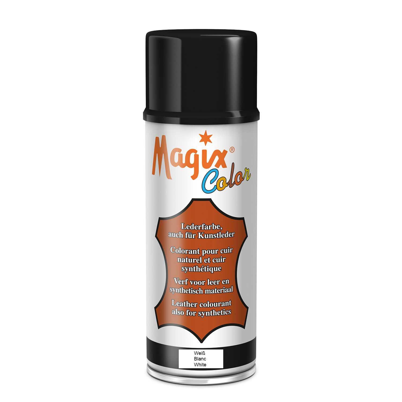Lederfarbspray 400ml zum Umfärben (400ml Spray, Weiß)