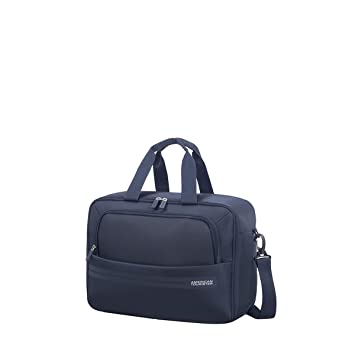 Amazon.com | American Tourister Summer Voyager 3-Way Boarding Bag Hand Luggage, 40 cm, 26 Liters, Midnight Blue | Luggage & Travel Gear
