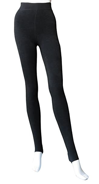 671a677f652a0 Women Winter Thick Warm Fluff Lined Thermal Toeless Pantyhose Tights(Black,  One Size) at Amazon Women's Clothing store:
