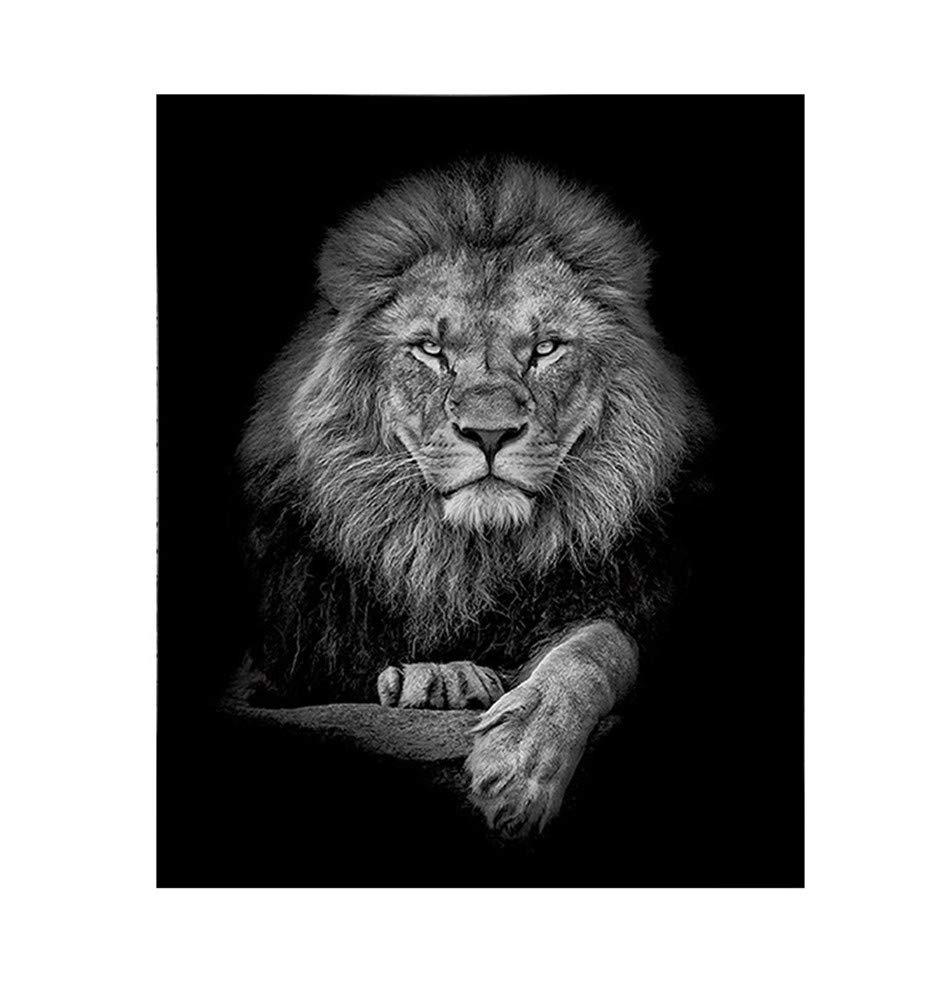 Nlj-YMS Leone Creativo Arredamento Casa Arte Arazzo Appeso A Parete Può Essere Personalizzato Leone 150cmX130cm