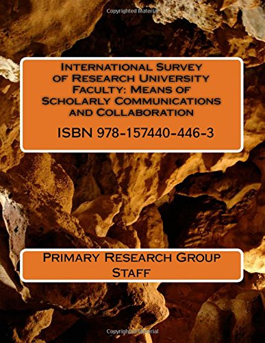 International Survey of Research University Faculty: Means of Scholarly Communications and Collaboration
