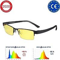 KLIM™ Optics - Gafas para Ordenador Anti luz