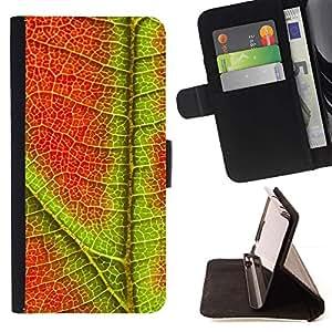 Momo Phone Case / Flip Funda de Cuero Case Cover - Planta Naturaleza Forrest Flor 96 - LG G2 D800