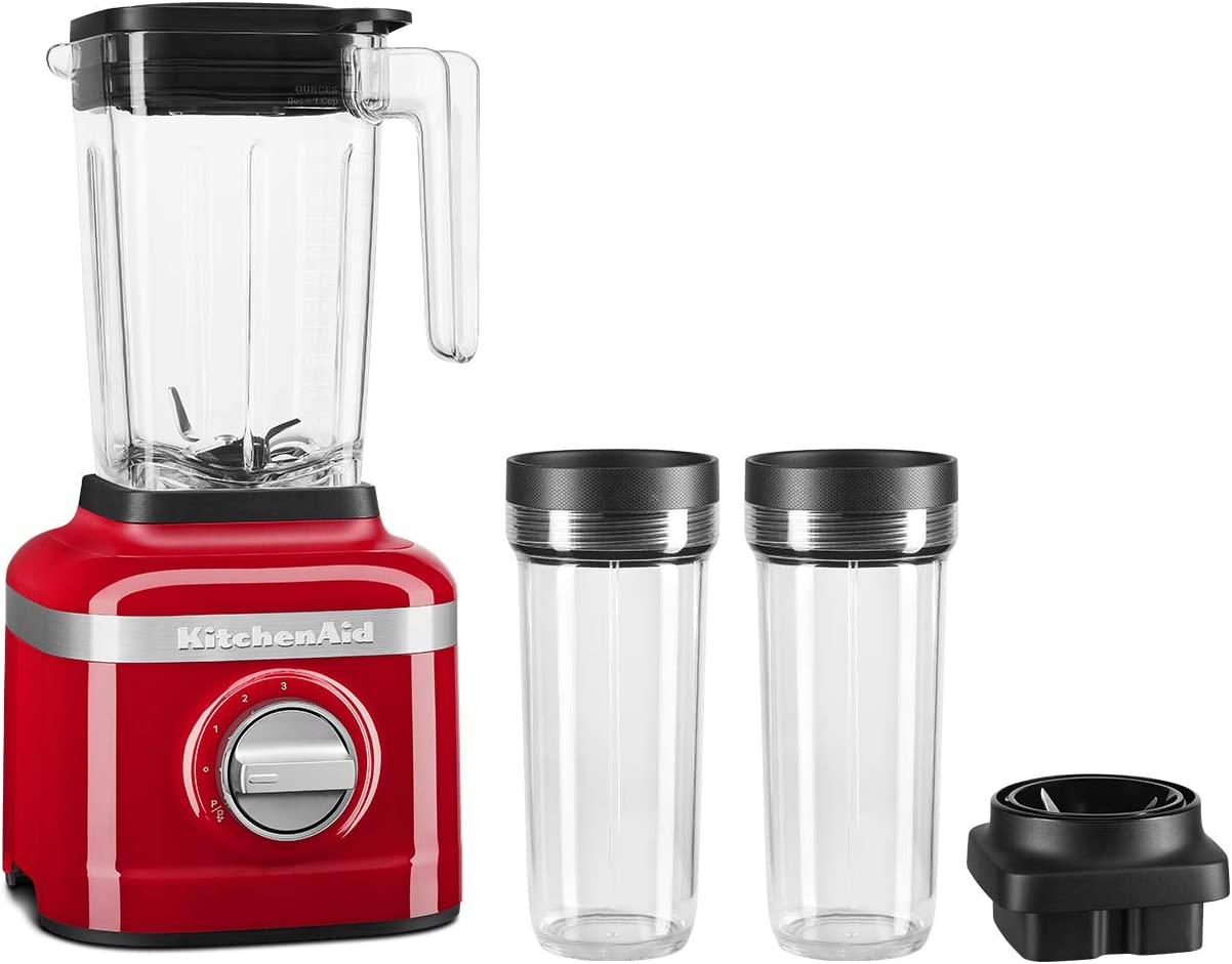 KitchenAid KSB1332YPA K150 Blender, 48 oz, Passion Red
