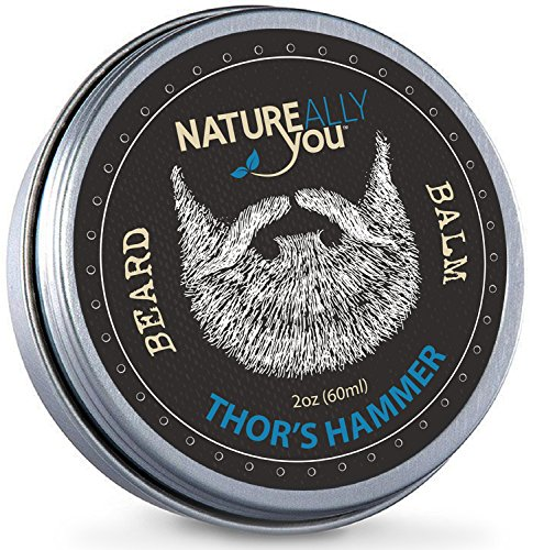 Price comparison product image NATUREALLY YOU© - Beard Balm - Thor's Hammer Scent - (2 oz) - Condition,  Smooth,  Soften,  Tame,  Remove Beard Itch