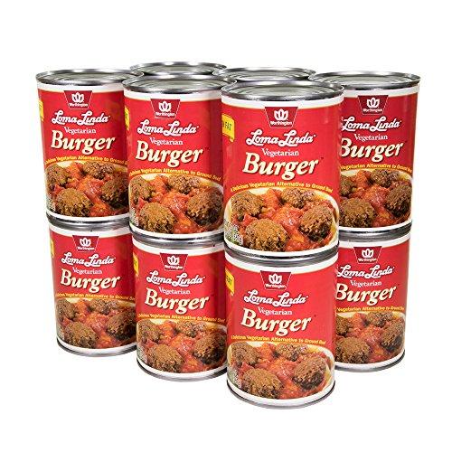 Vegetarian Burger (Loma Linda - Vegetarian - Vegetarian Burger (20 oz.) (Pack of 12) - Kosher)