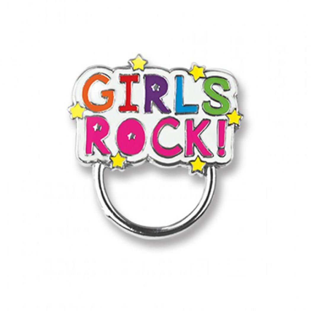 CHARM IT! Girls Rock! Charm Catcher Pin