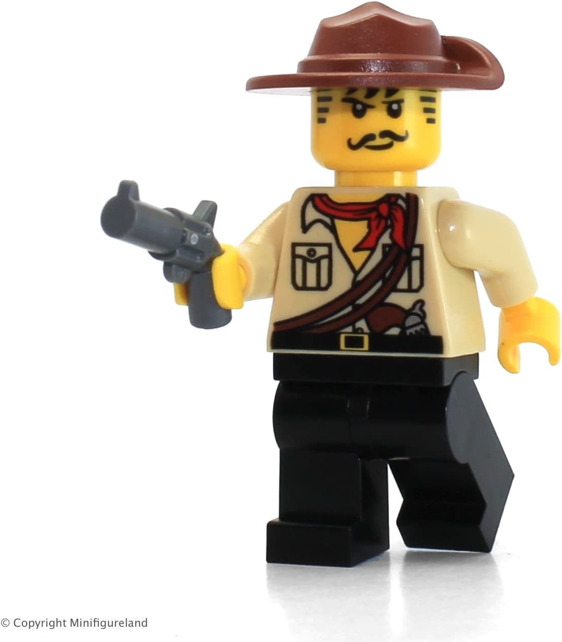 LEGO Adventures Minifigure - Johnny Thunder (White Pupils)