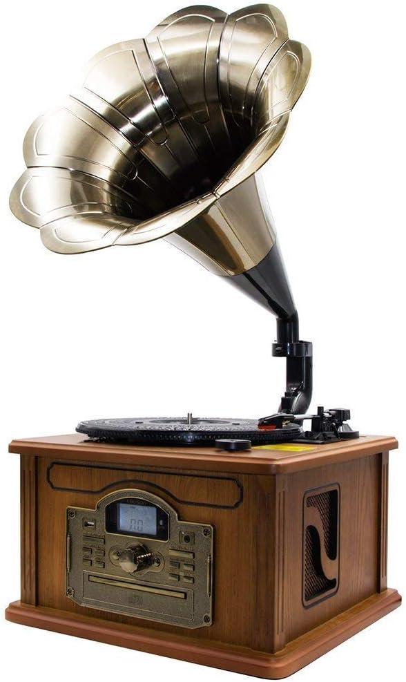 Lauson CL747 Gramófono Retro Bluetooth Función Encoding ...