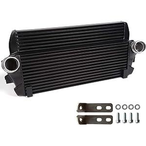 Amazon com: Front Mount Aluminum Turbo Intercooler Kit For BMW E82