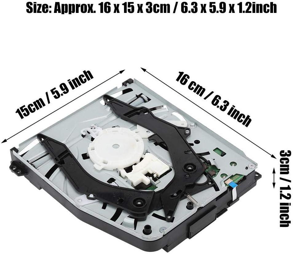 Diyeeni Professional Game Console Ersatz-Kit kompatibel mit dem CD-Laufwerk f/ür PS4 Slim KEM-490