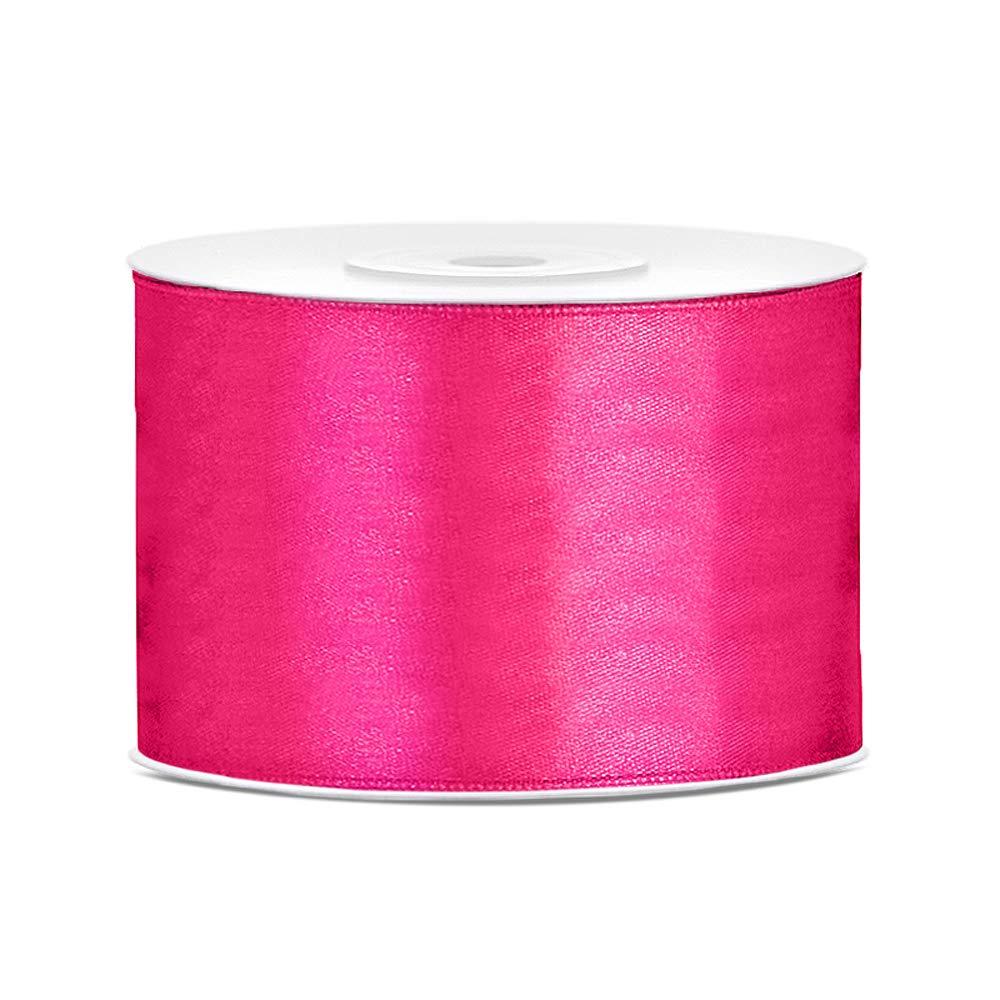Farbe Gr/ö/ße DaLoKu Satinband 6//12//25//38//50//100mm x 25m Geschenkband Schleifenband 6mm x 25m Purple