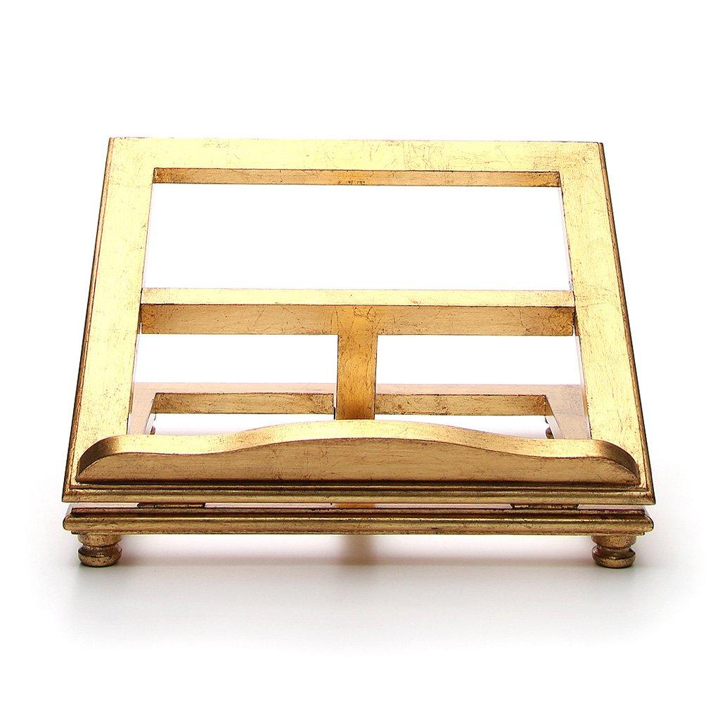 Holyart Leggio da tavolo legno foglia oro, 20 x 25 cm (7.87 x 9.84 inc.)