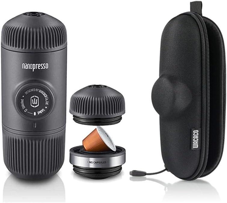 Wacaco Nanopresso - Máquina de espresso portátil + adaptador para ...
