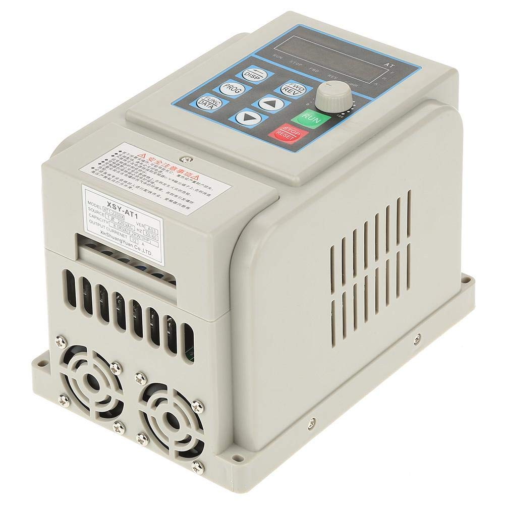 VFD 220V, Single-Phase Variable Frequency Drive,Low Noise Electromagnetic Interference,for 3-Phase 2.2KW AC Motor by Thincol (Image #7)
