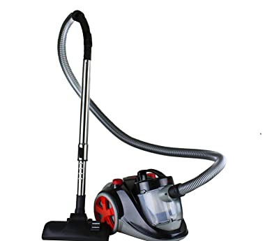 Ovente ST2000 Featherlite Cyclonic Bagless Canister Vacuum