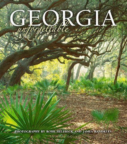View the beauty of the Peach State as you've never seen it before. From the coastal islands to the sculpted mountains, Georgia Unforgettable will leave a lasting impression. Featuring more than 143 color photographs from professional photographers Ro...