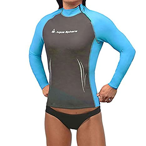 7dbdecdead9 Amazon.com : Aqua Sphere Aqua Skins Women's Long Sleeve Swim Skin ...