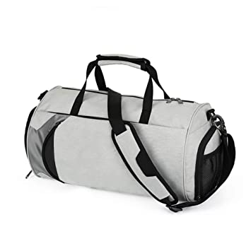 fb96390688dc Amazon.com : KUVV Durable Travel Polyester Bags Large Capacity ...