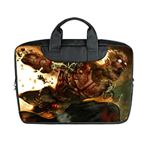 INSTALL AND EASY TO CARRY Wear& Slim &Dapper Asura Custom Waterproof Nylon Bag for Laptop 15.6 Inches(Twin sides)