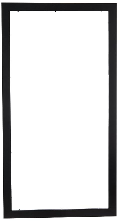 Amazon.com - ArtToFrames 15x30 inch Satin Black Picture Frame ...