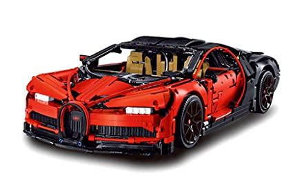 Amazon Com Juna Creation Bugatti Chiron Technic Building Bricks