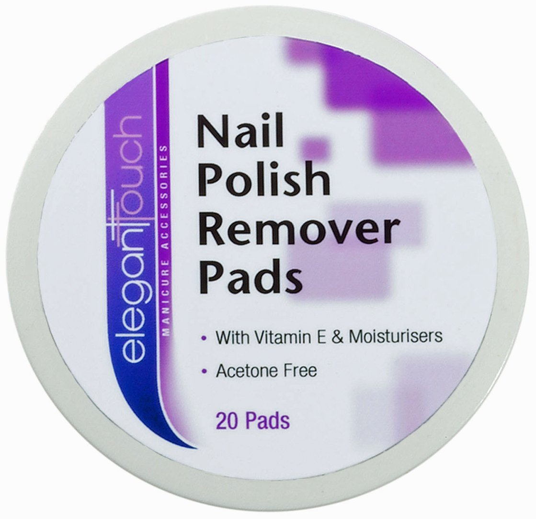 Elegant Touch Nail Polish Remover Pads: Amazon.co.uk: Beauty