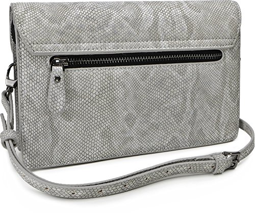 Paul's Boutique Veronica Grey Clutch PBN126371