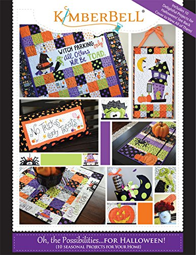 Kimberbell Oh, The Possibilities for Halloween! Pattern Book -