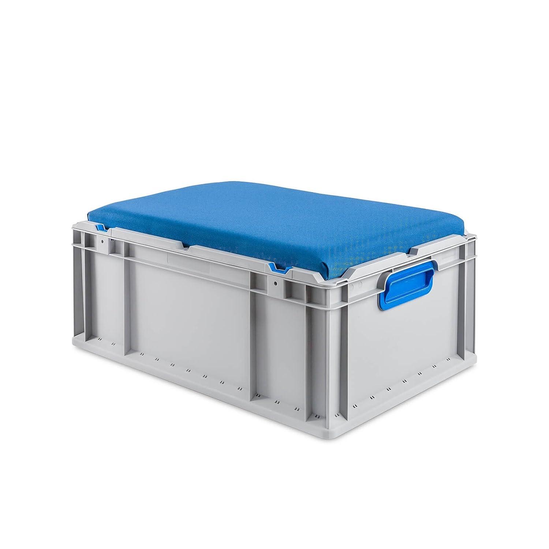 Eurobox 60x40x22 mit deckel und sitzkissen | Troopy | Pinterest ...
