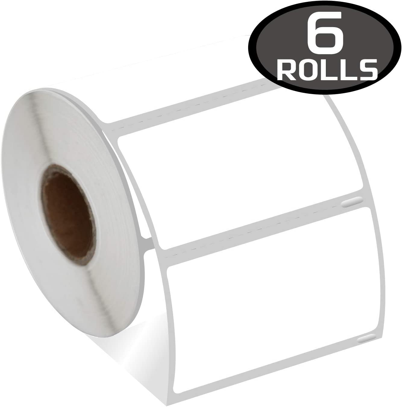 stampa nera su bianco 6 rotoli di etichette compatibili Dymo S0947420 102 mm x 59 mm 4XL ad alta capacit/à