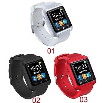 LILIERS Smartwatch Bluetooth Smart Watch U8 for iPhone iOS ...