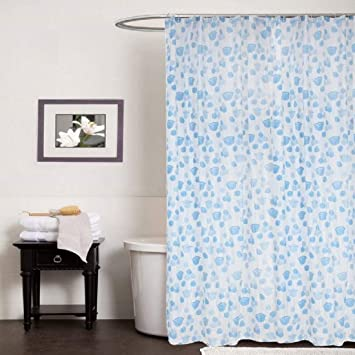 Shavin Pvc Plastic Printed Waterproof Shower Curtains Blue Width 54 X Height 108 Inches 9 Ft Pack Of 2 Amazon In Home Kitchen In the us, feet and inches are commonly used to measure height, shorter distances, field length. amazon in