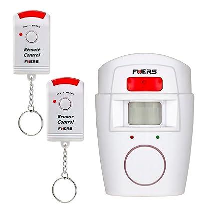 Alarma con sensor de movimiento