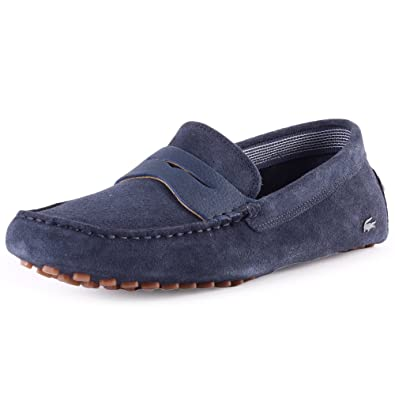 22f0484c9 Lacoste Premium Suedette Concours Mens Moccasins  Amazon.co.uk  Shoes   Bags
