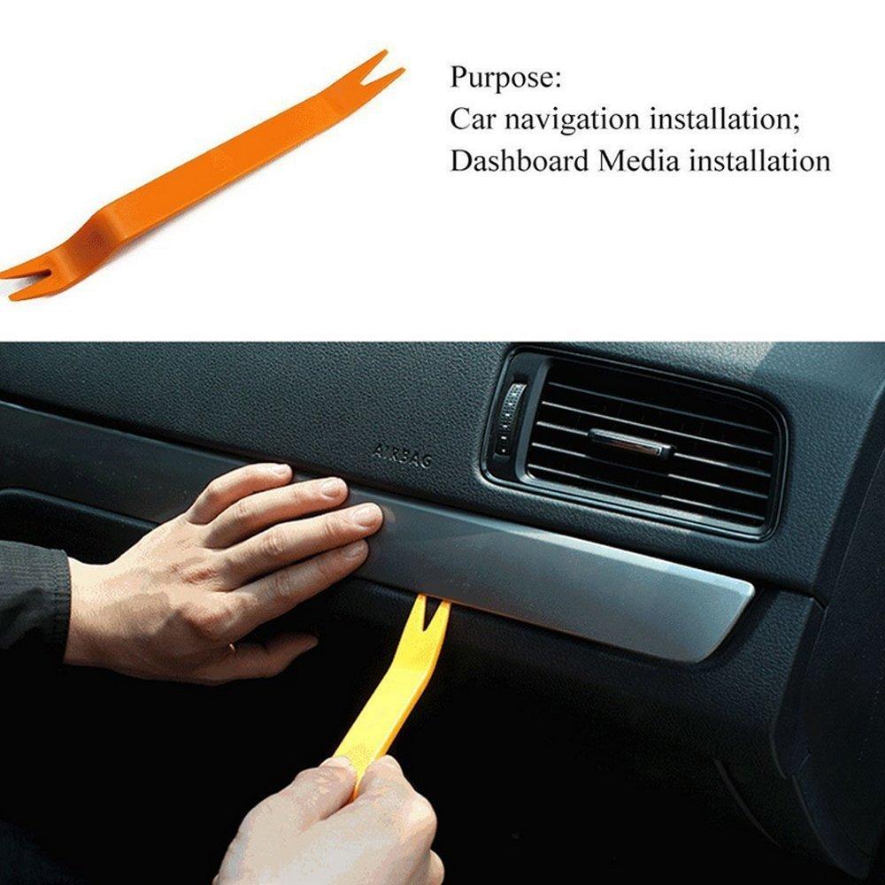 Mintice/™ 4 St/ück Universal Kfz Autoradio Stereoanlage Innen Verkleidung Demontage Auto Verkleidung Entfernen