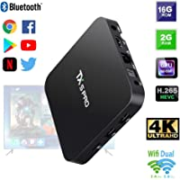 Tv Box Smart Tx5 Pro 2gb Ram 16gb Rom Android 4k Bluetooth Netflix YouTube