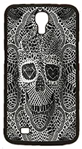 Skull Tattoo Partterned Hard Case for Samsung Galaxy Mega 6.3 I9200 I9205 ( Sugar Skull )