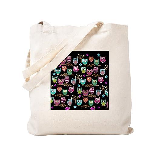 CafePress - Bolsa de tela para la compra, diseño de búho ...